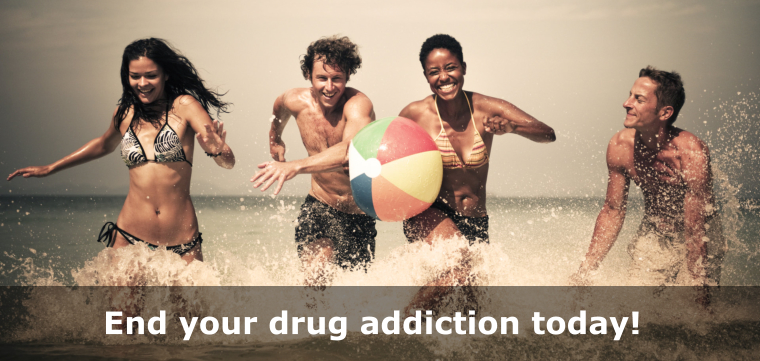 End your drug addiction today!